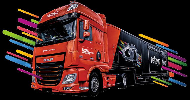 Roadshow 2020 truck