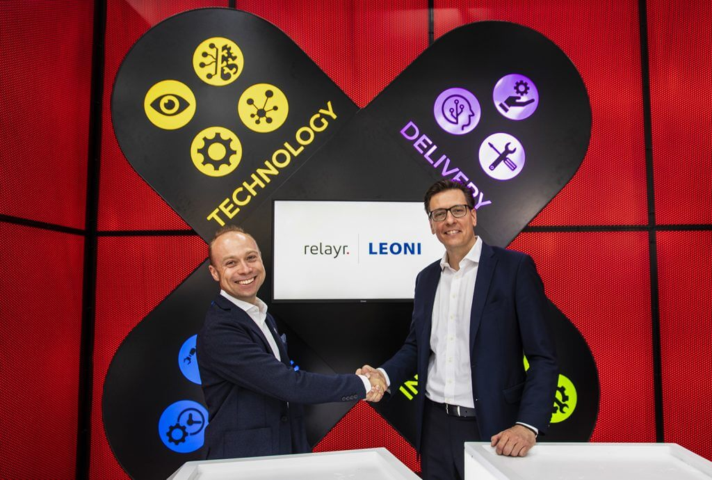 Leoni and relayr enter strategic partnership to raise the